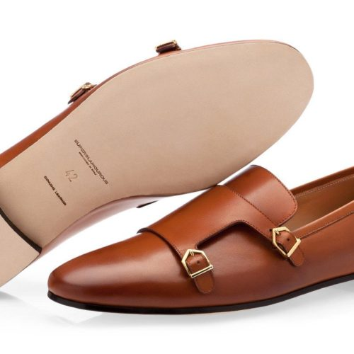 ODILON NAPPA COGNAC LOAFERS