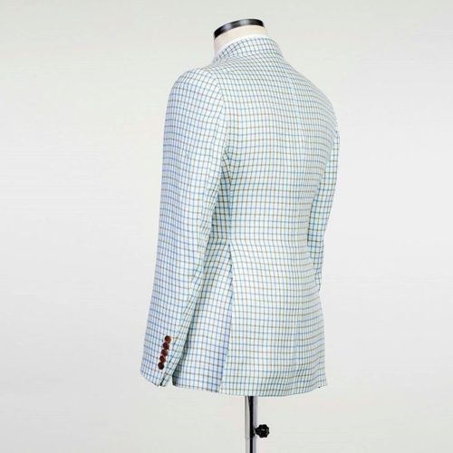 Fashuné Blue Cruise Double Breasted Suit